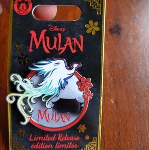 Disney Mulan Phoenix Pin- Live Motion Film